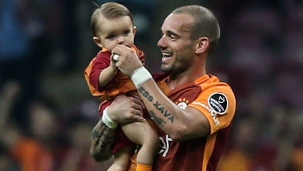 Galatasaray'ın Beşiktaş'a karşı en büyük kozu Sneijder!