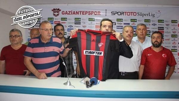 Gaziantepspor'da görülmemiş sponsorluk