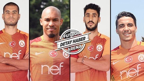 İşte Galatasaray'ın transfer raporu