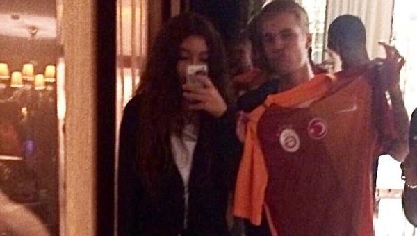 Justin Bieber, Galatasaraylı çıktı