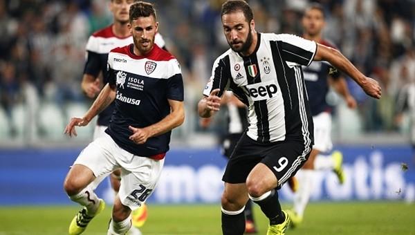 Juventus 4 - 0 Cagliari maç özeti ve golleri