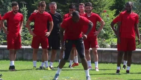 Kayserispor'da Galatasaray hazırlığı