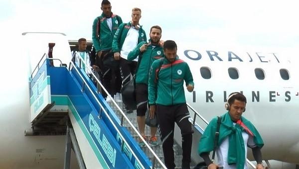 Konyaspor, Belçika'ya gitti