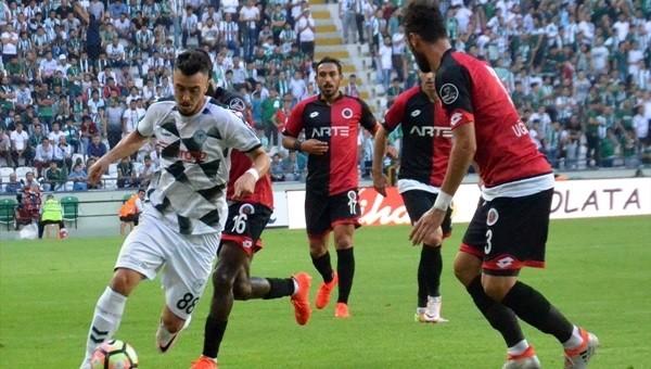 Konyaspor ile Gençlerbirliği yenişemedi: 1-1