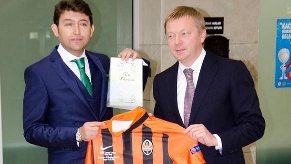 Konyaspor, Shakhtar'ı karşıladı