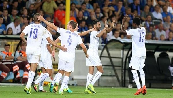 Leicester City Şampiyonlar Ligi'ne iyi başladı