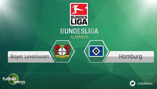 Leverkusen - Hamburg maçı saat kaçta, hangi kanalda?