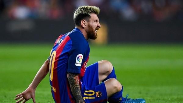 Lionel Messi 3 hafta yok