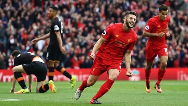 Liverpool 5 - 1 Hull City maç özeti ve golleri