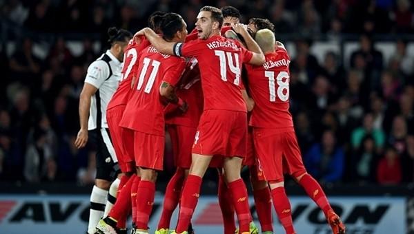 Liverpool, Lig Kupası'nda tur atladı