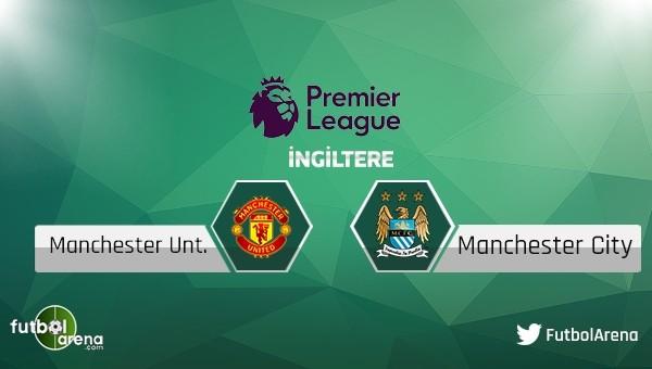 Manchester United - Manchester City maçı saat kaçta, hangi kanalda?
