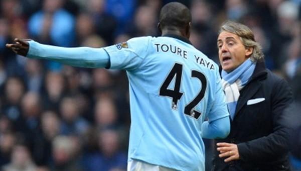 Mancini'den Yaya Toure açıklaması
