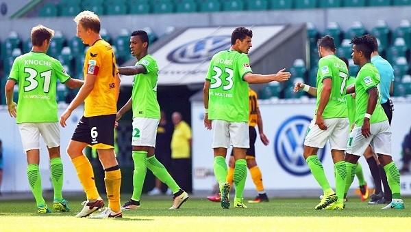 Mario Gomez Wolfsburg'da ilk golünü attı
