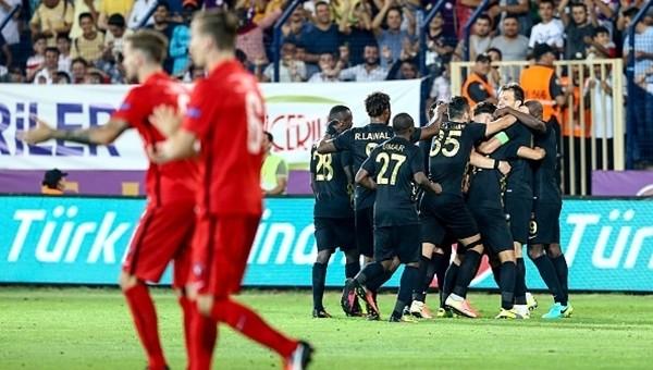 Osmanlıspor, Avrupa'da durdurulamıyor