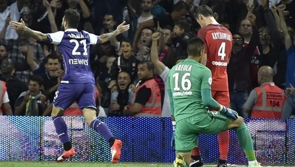 Paris Saint-Germain'e Toulouse şoku!