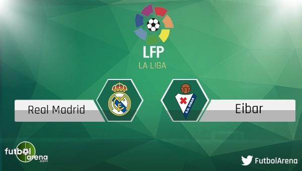 Real Madrid - Eibar maçı saat kaçta, hangi kanalda?