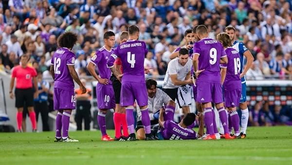 Real Madrid'de sakatların durumu belli oldu