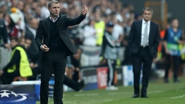 Rebrov'dan Beşiktaş taraftarına gönderme