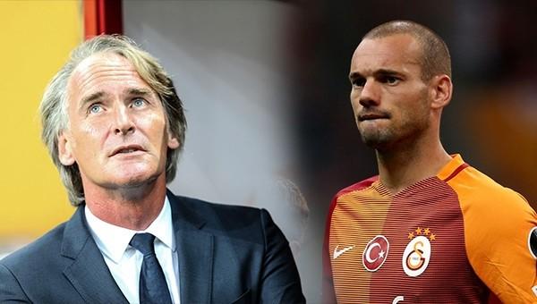 Riekerink'i Beşiktaş maçı sonrası kızdıran Sneijder sorusu