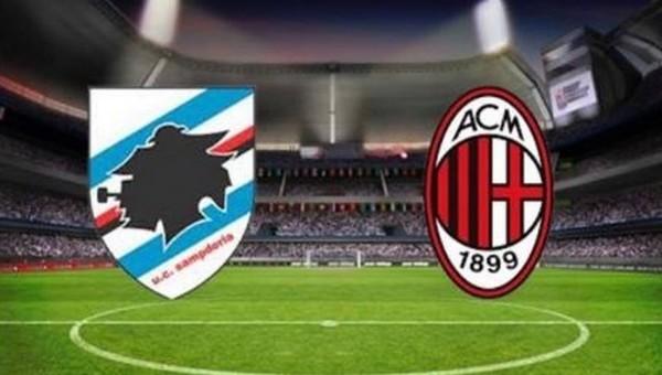 Sampdoria - Milan maçı saat kaçta, hangi kanalda?