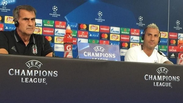 Şenol Güneş, Benfica maçı öncesi konuştu