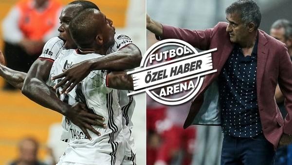 Benfica maçında Şenol Güneş'ten Aboubakar ve Talisca kararı