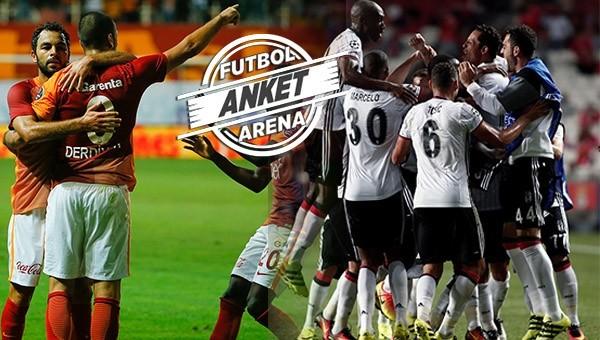 Beşiktaş - Galatasaray derbisi nasıl biter? ANKET