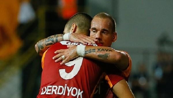 Galatasaray'da Sneijder - Eren Derdiyok A.Ş.
