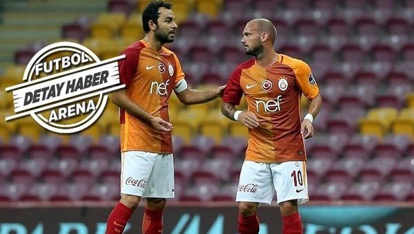 Galatasaray'da bunlar konuşuluyor! 'Sneijder, Selçuk İnan'i istemiyor'