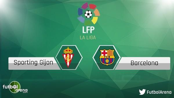 Sporting Gijon - Barcelona maçı saat kaçta, hangi kanalda?