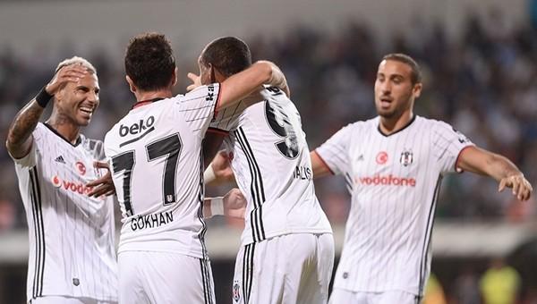 Süper Lig'in en golcüsü Beşiktaş