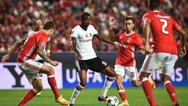 Talisca, Benfica - Beşiktaş maçında yıldızlaştı