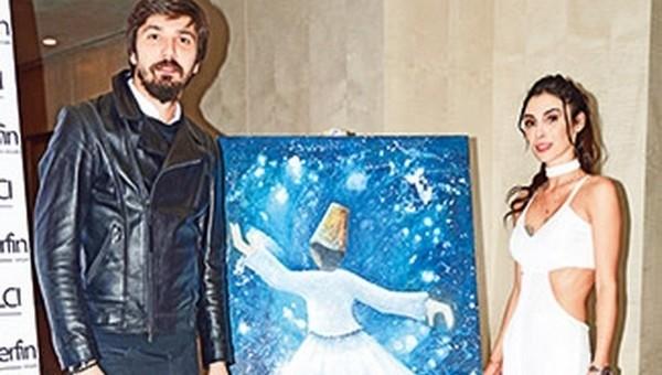 Tolga Zengin'den 12 bin liralık tablo