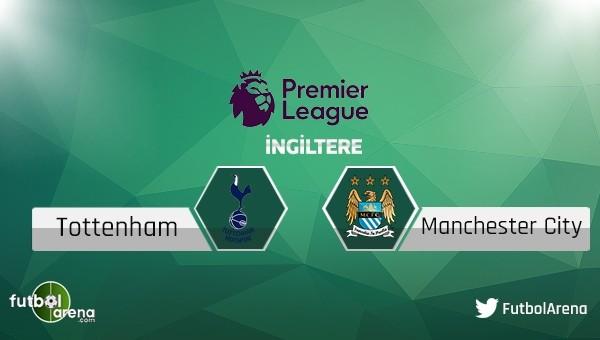 Tottenham - Manchester City maçı saat kaçta, hangi kanalda?