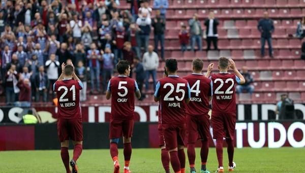 Trabzonspor son saniyede güldü: 1-0