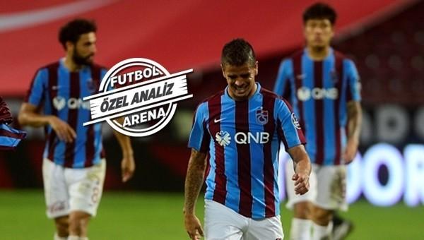 Trabzonspor'da oyun iyi skor kötü...