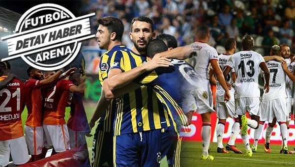Süper Lig'de 3 büyükler ilk kez toplu kazandı
