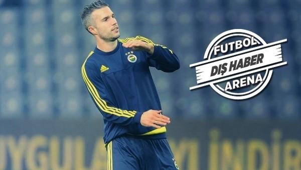 Van Persie'den Fenerbahçe açıklaması