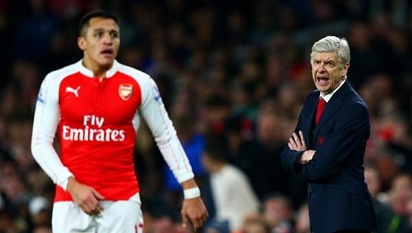 Wenger'den Alexis Sanchez'e büyük övgü
