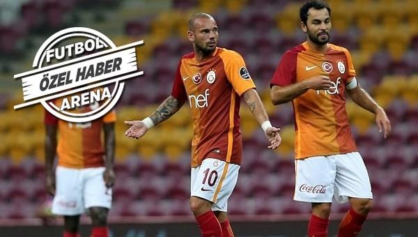'Wesley Sneijder, Galatasaray'ı yönetiyor'
