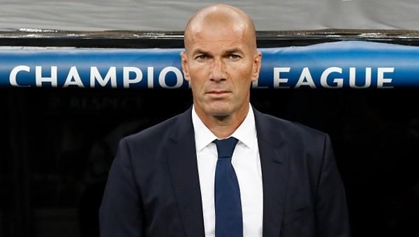 Zinedine Zidane Real Madrid tarihine geçti