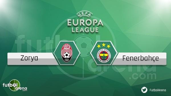 Zorya Luhansk - Fenerbahçe maçı saat kaçta, hangi kanalda?
