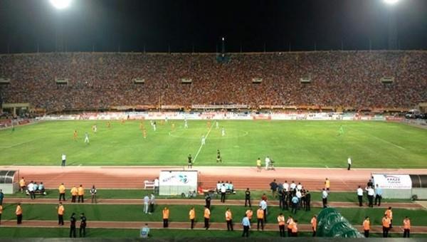 Altınordu - Mersin İdmanyurdu maçı Atatürk Stadı'nda