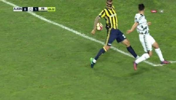 Atiker Konyaspor'un penaltı isyanı
