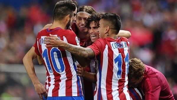 Atletico Madrid, Granada'ya gol yağdırdı