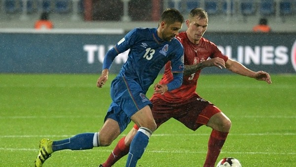 Azerbaycan tarih yazıyor! 3 maçta 7 puan...