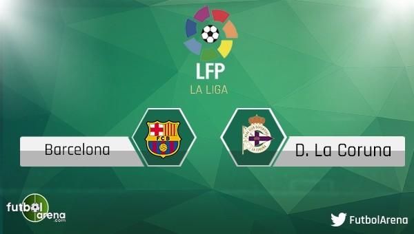 Barcelona - Deportivo maçı saat kaçta, hangi kanalda?