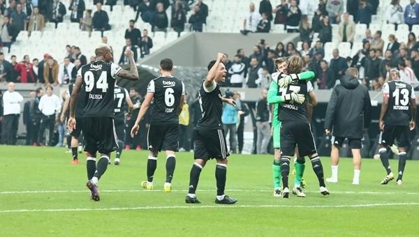 Beşiktaş'ın Vodafone Arena'da bileği bükülmüyor
