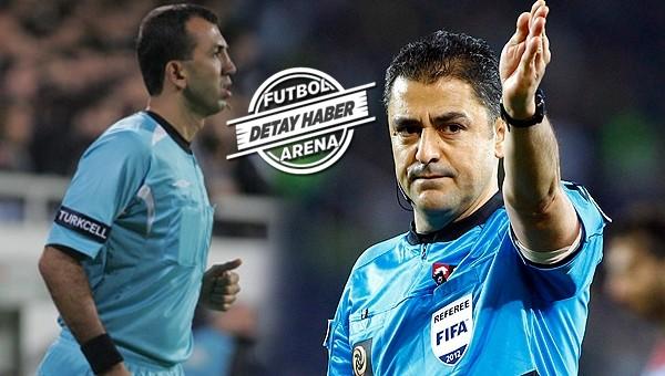 Konya'da penaltıyı verdirmeyen hakem...