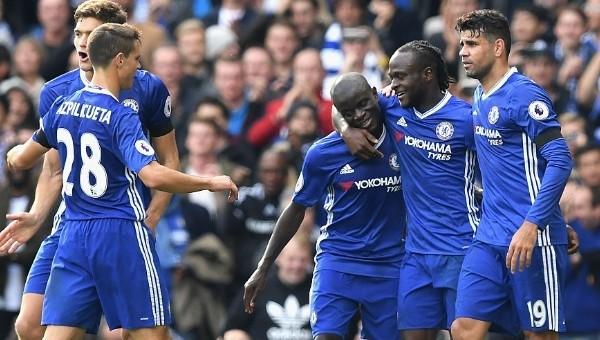 Chelsea, Leicester'ı farklı geçti
